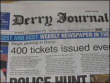 Derry Journal newspaper