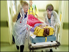 A&E nurse