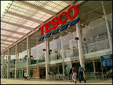 A Tesco supermarket (library picture)