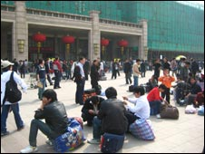 Beijing train station, 28/04