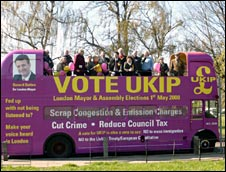 The UKIP bus