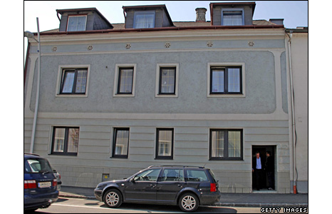 House in the town of Amstetten in the province of Lower Austria