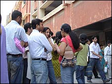Delhi university students