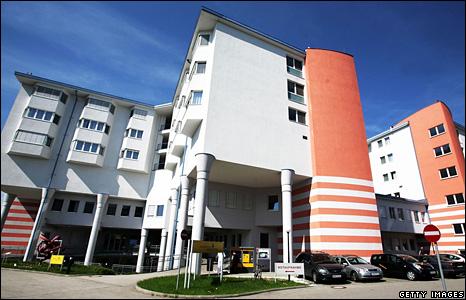 Hospital in Amstetten