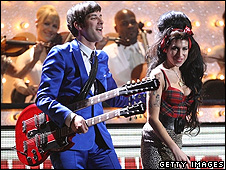 Mark Ronson and Amy Winehouse