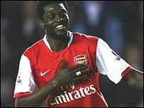 Hat-trick hero Emmanuel Adebayor