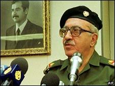 Tariq Aziz. File photo