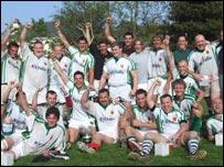 Guernsey winning 2007 Siam Cup