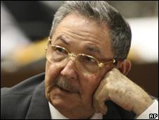 President Raul Castro (file photo)