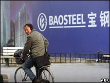 Baosteel in China