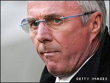 Eriksson to be sacked by Man City _44609966_aberikssonbodygetty226