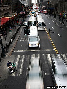 New York street (Getty Images)