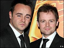 ITV hosts Ant and Dec