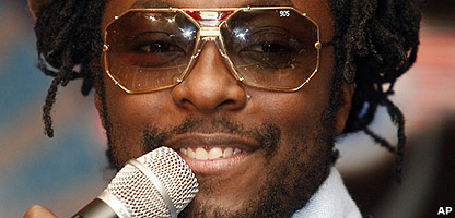 Will.i.am from Black Eyed Peas