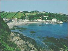 Jersey coastline