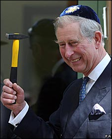 Prince Charles at the opening ceremony