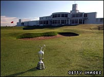 The Claret Jug at Royal Birkdale
