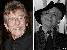 John Hurt and Quentin Crisp