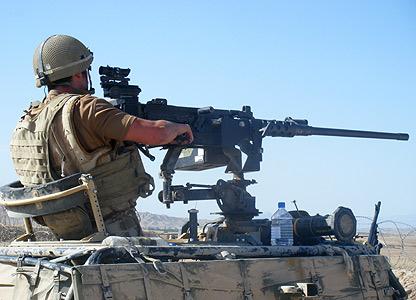 Camp Robinson firing range