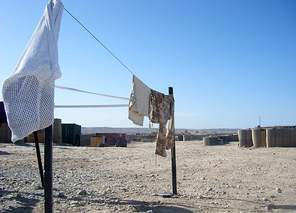 Laundry at Camp Robinson