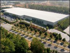 HP data centre in Atlanta