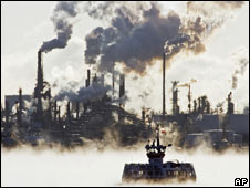 Refinery. Image: AP
