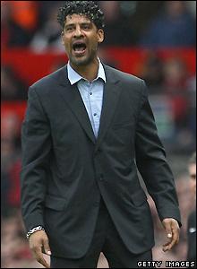 Barcelona boss Rijkaard