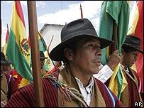 Indígena boliviano