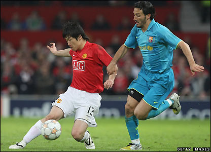 Zambrotta prepares to tackle Park