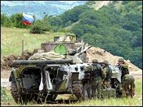 قوات حفظ السلام بأوسيتيا (أرشيف)