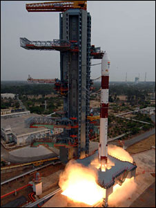 PSLV taking off