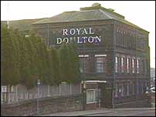 Royal Doulton's Nile Street factory