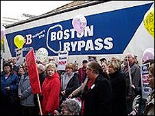 Boston Bypass campaigners