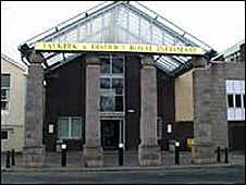 Falkirk and District Infirmary main entrance