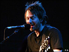 Radiohead - favourites to headline the Saturday night