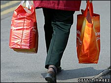 Sainsbury's shopper