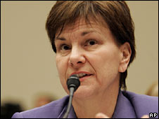 FDA official Joanne Woodcock, at the congressional hearing