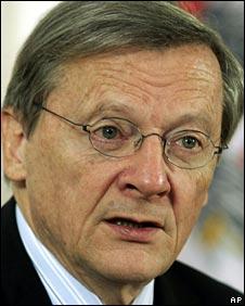 Former Austrian Chancellor Wolfgang Schuessel