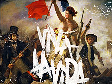 Artwork for Coldplay album Viva La Vida or Death and all his Friends