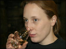Head distiller Gillian Howell