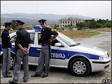 Georgian police in S Ossetia