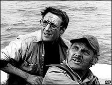 Roy Scheider in the film Jaws