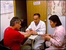 Chinese Medicine consultation