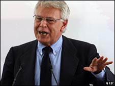 Spanish former PM Felipe Gonzalez