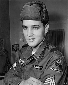 Elvis Presley in Germany in 1960