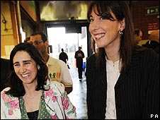 Marina Wheeler and Samantha Cameron