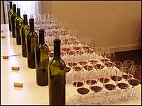 El vino espera la cata