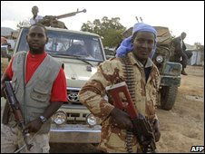 Militiamen from the Islamic Courts in 2006