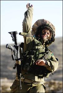Израильский военнослужащий (снимок предоставлен пресс-службой ЦАХАЛ)