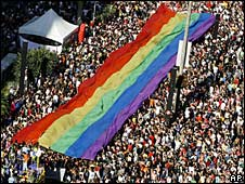 Gay pride parade Brazil 2007